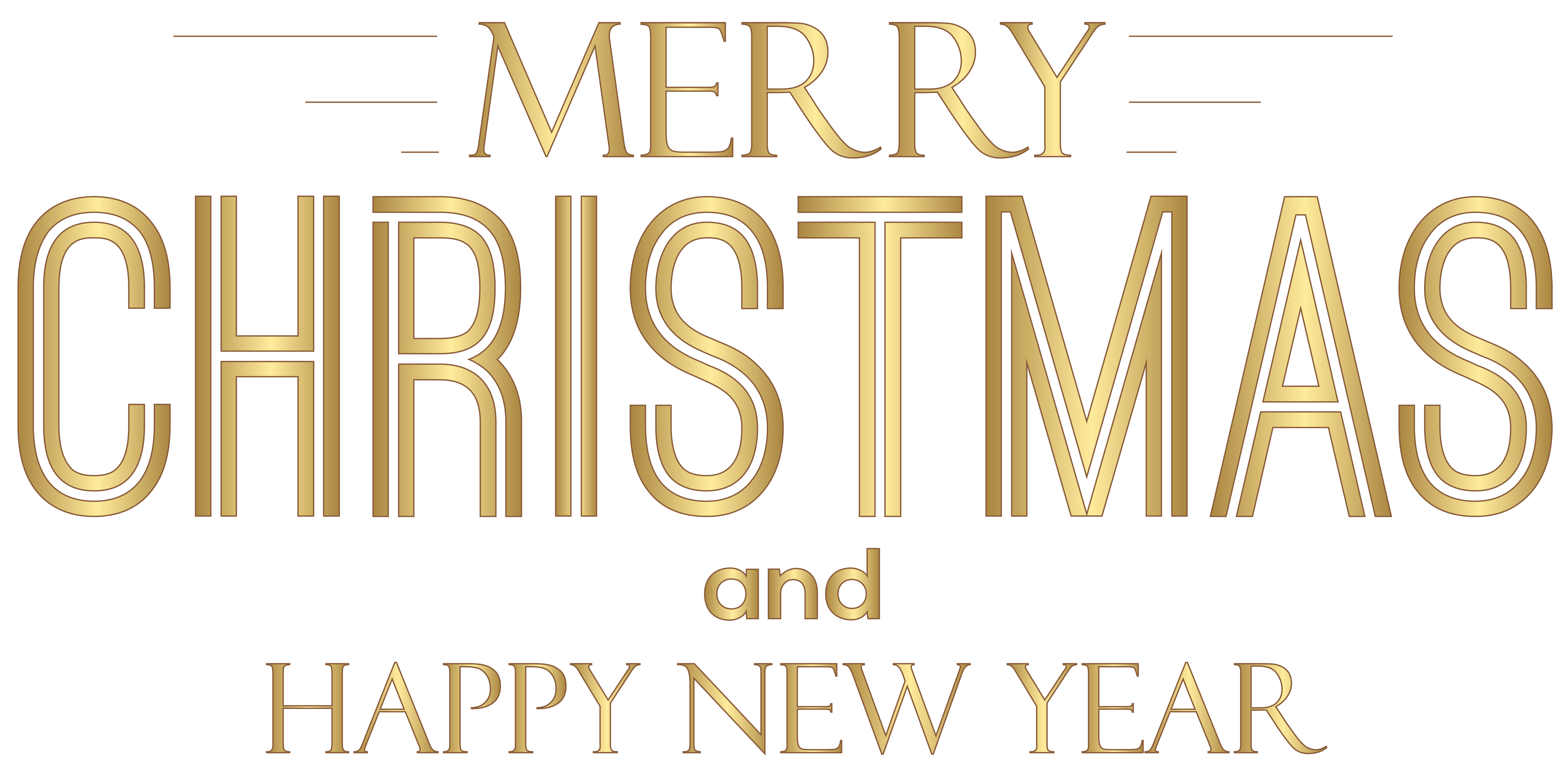 Merry christmas and happy. Free clipart new year