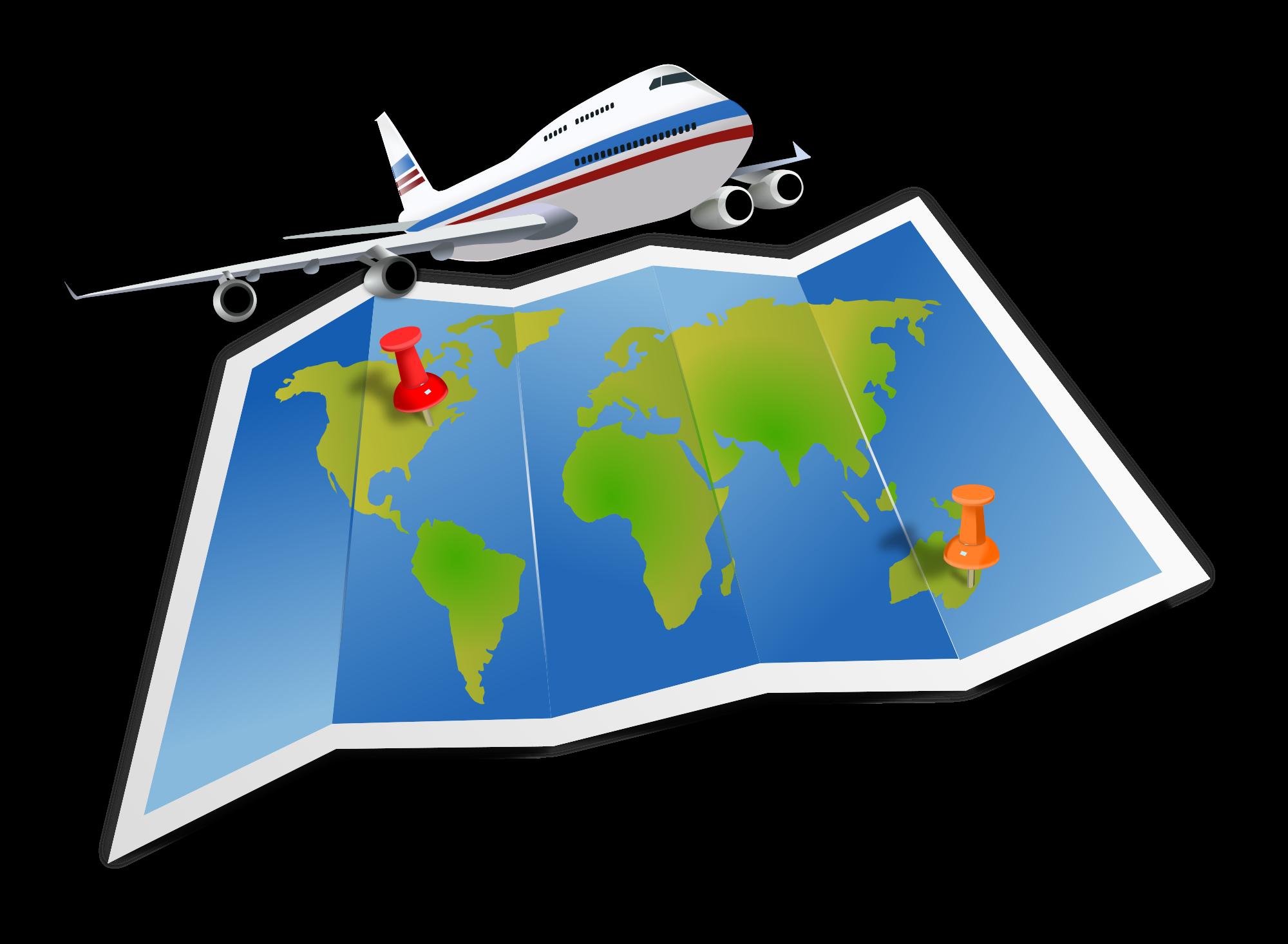 Clipart world world traveler. To travel or not