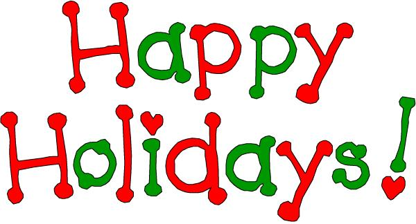 Free happy vacation cliparts. Holidays clipart holiday dinner