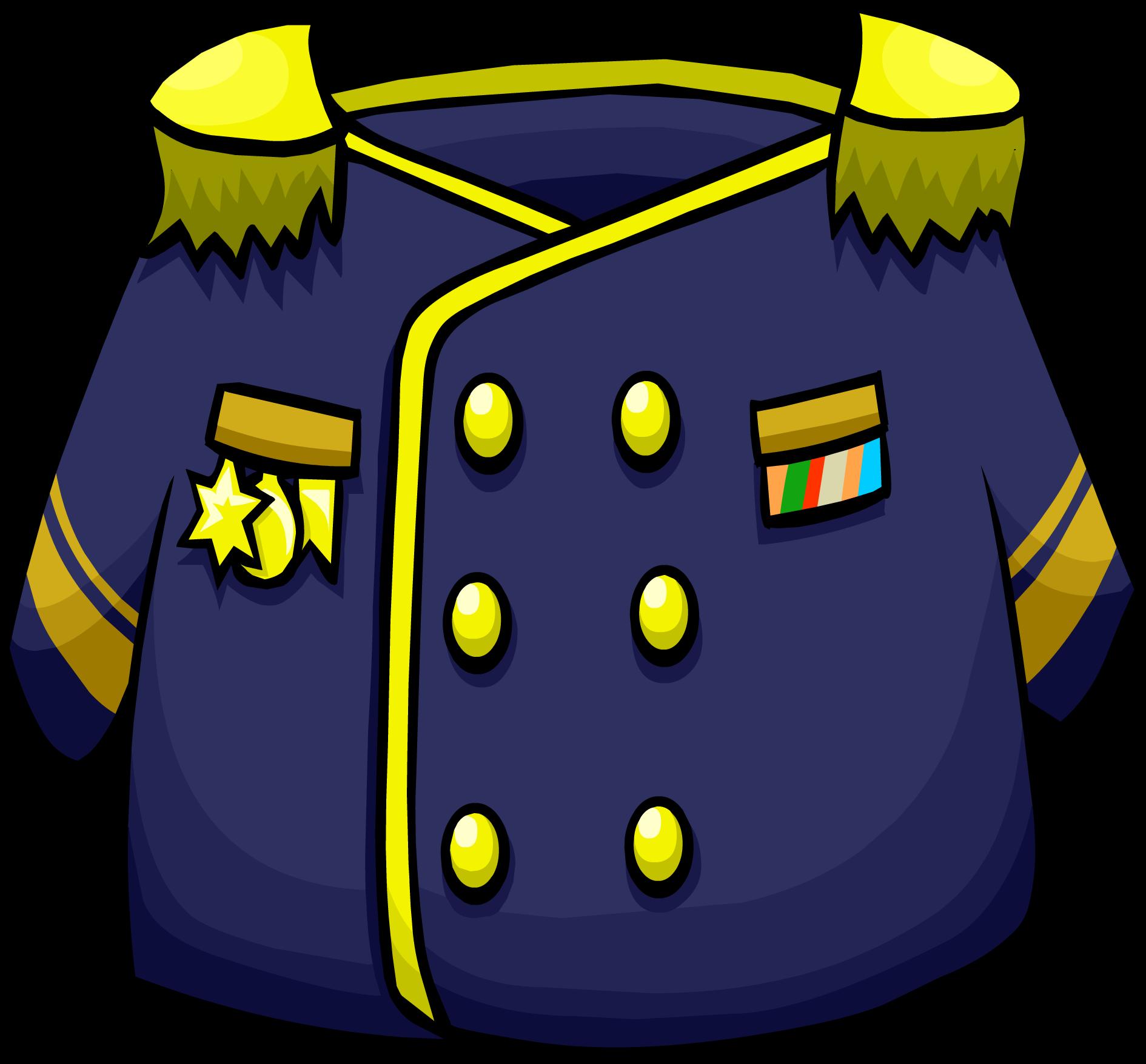 Admirals club penguin rewritten. Jacket clipart purple jacket