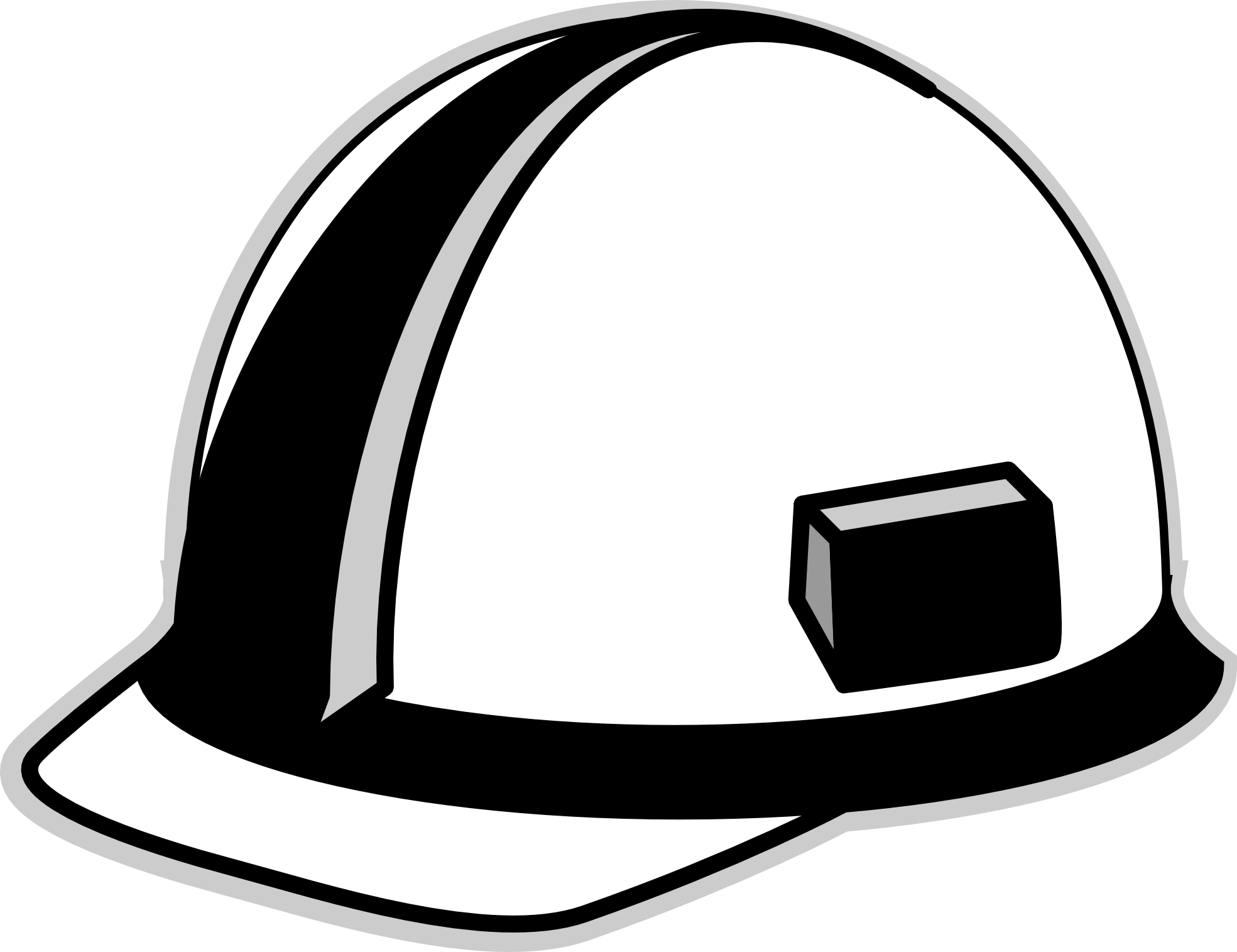 Hat clipart coal miner. Construction panda free images