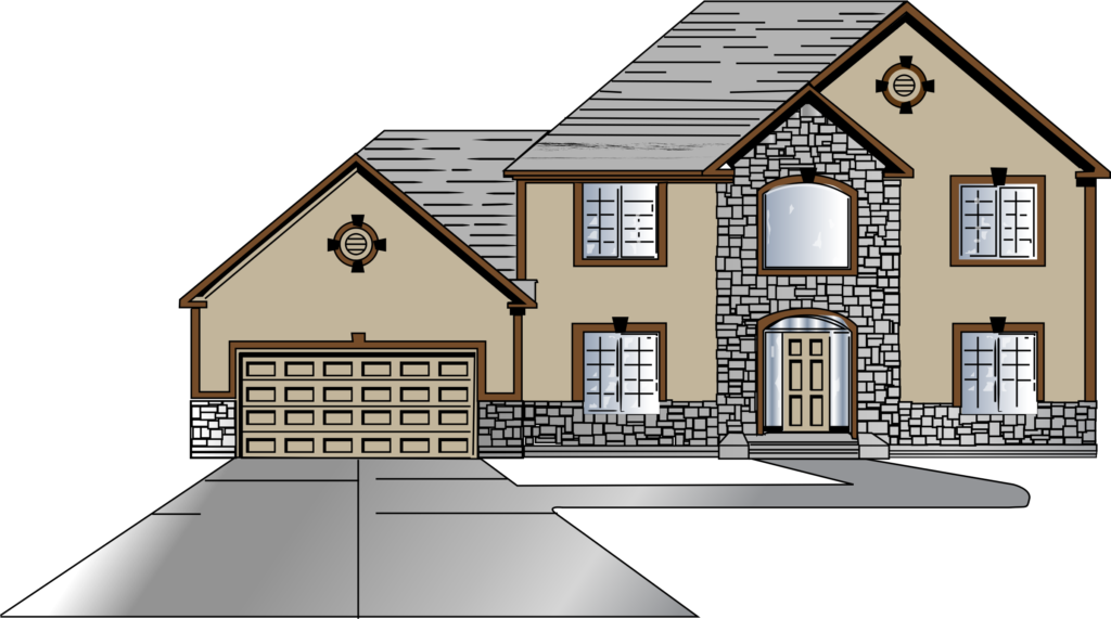 Big drawing at getdrawings. Home clipart small house