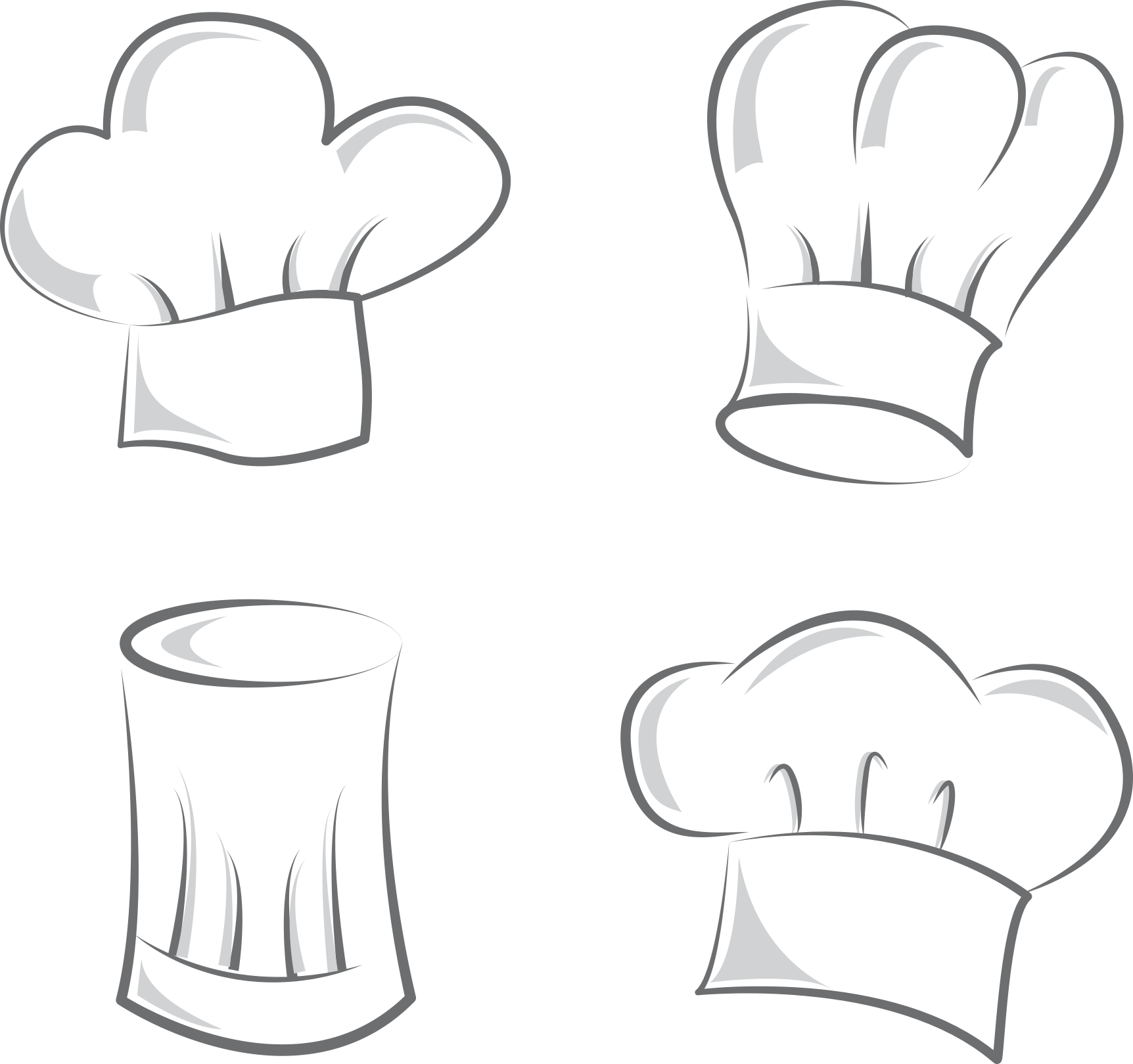 Cupcake cook chef pictures. Clipart hat bakery