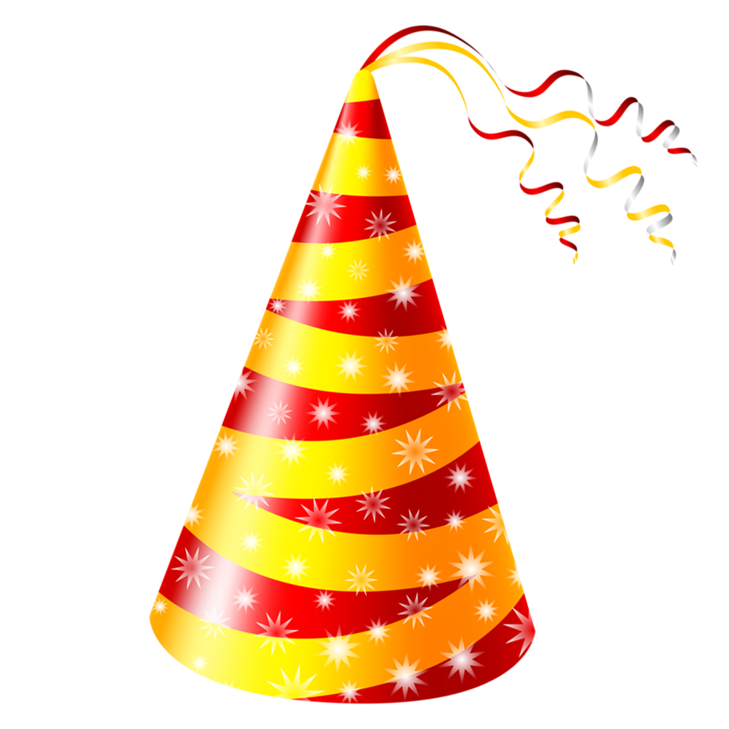 Hats clipart bday. Birthday cake party hat
