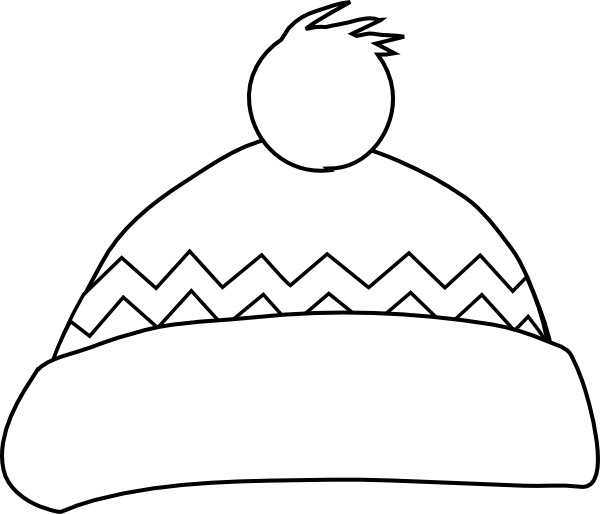 Clipart hat black and white. Clip art at clker