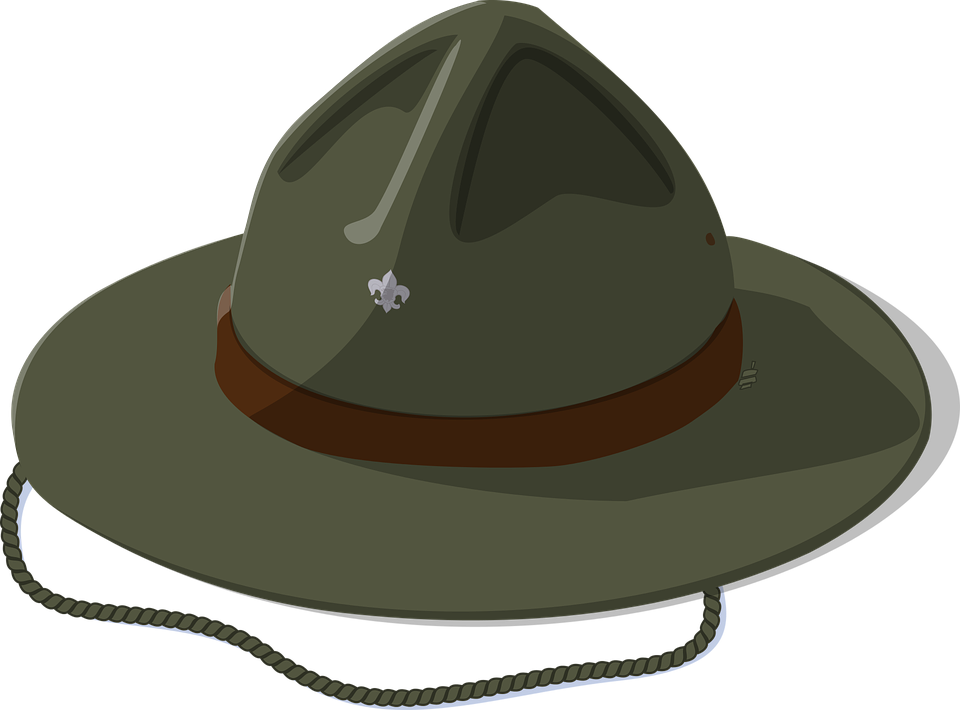 Clipart hat camping. Camp free for download