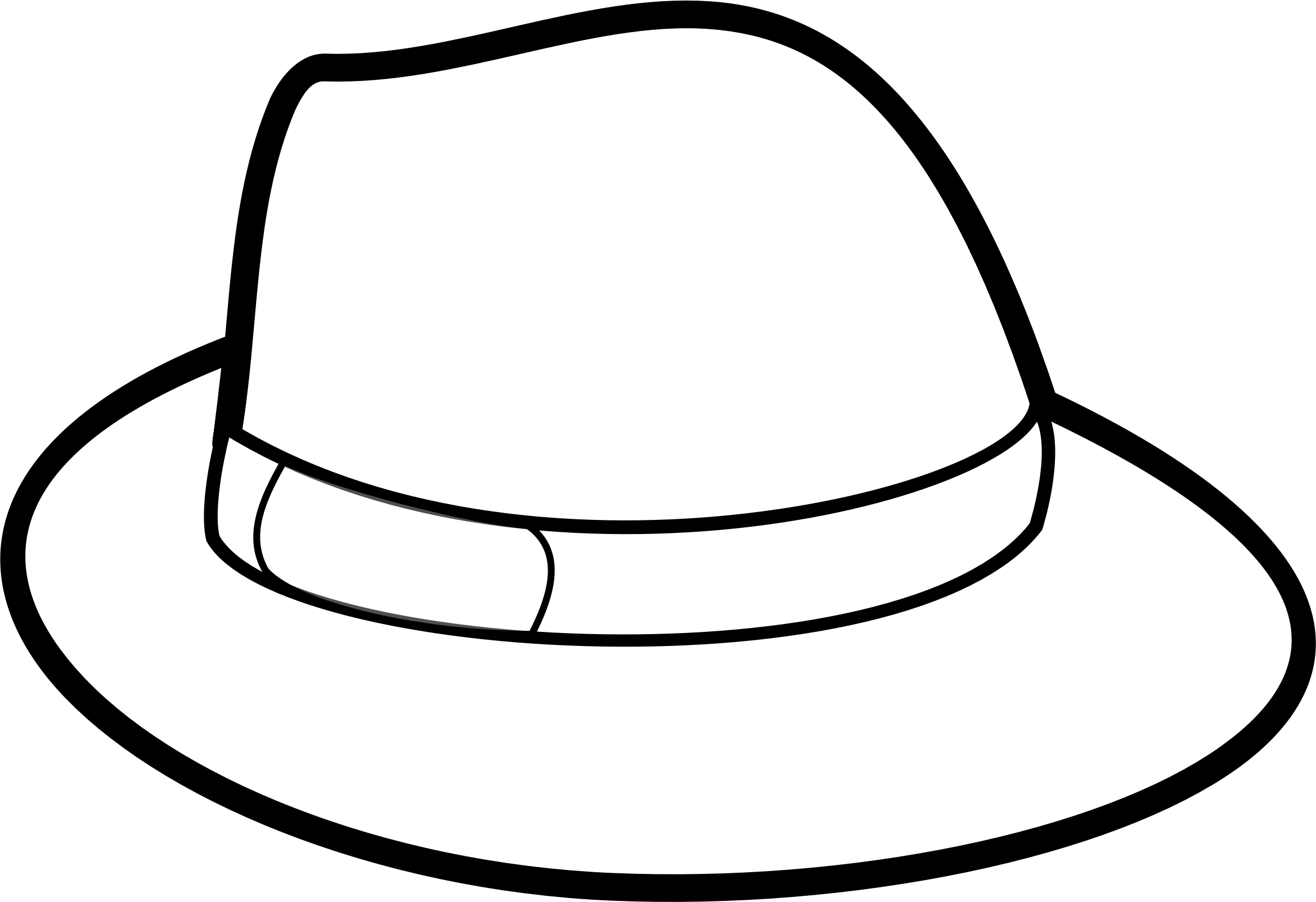 Clipart hat cartoon.