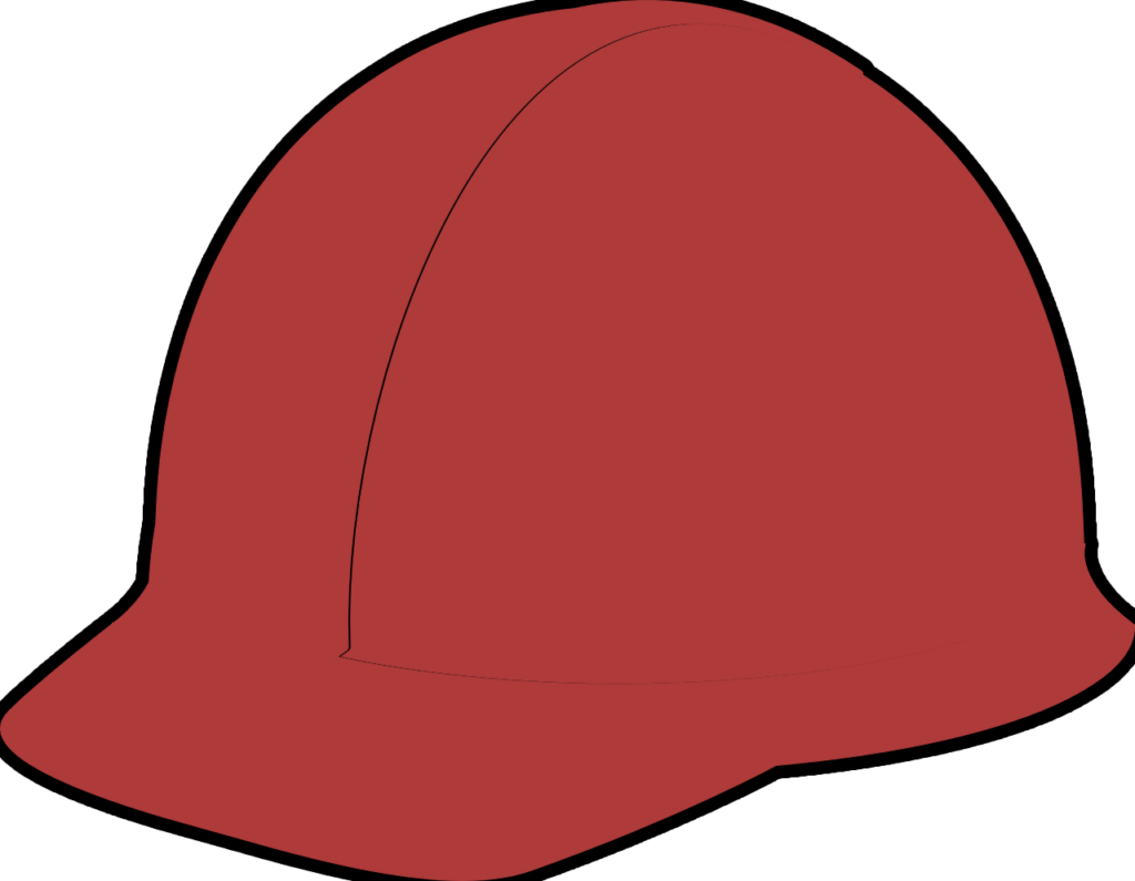 Safety helmet colour code. Electrician clipart hard hat worker
