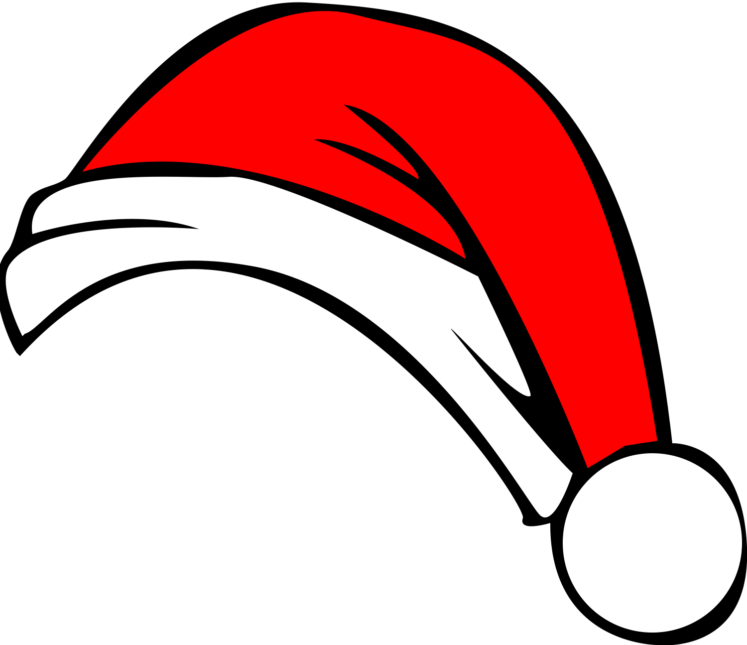 Cool clipart christmas.  collection of hat