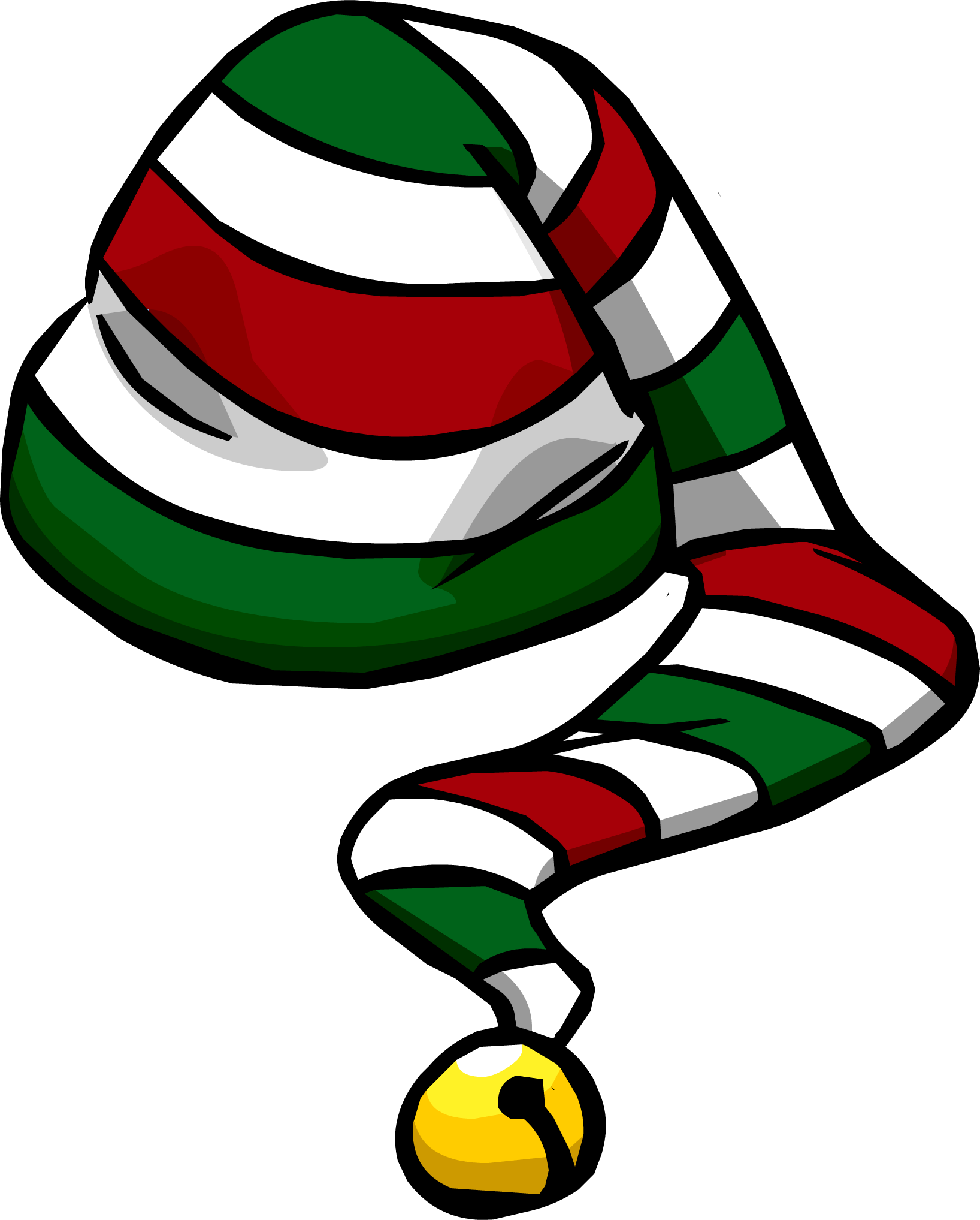 Mail clipart received. Candy cane hat club