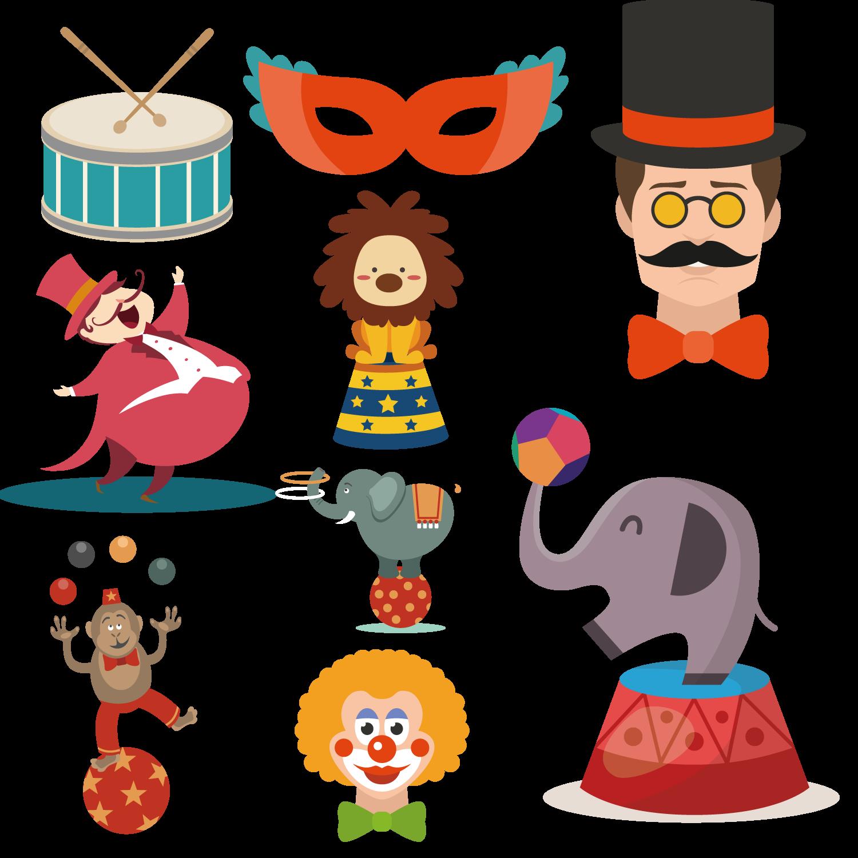 Performance clip art design. Clipart hat circus