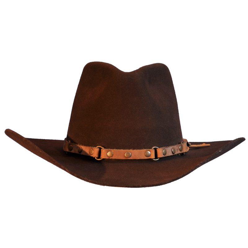 Cowboy png image purepng. Fedora clipart hat aussie