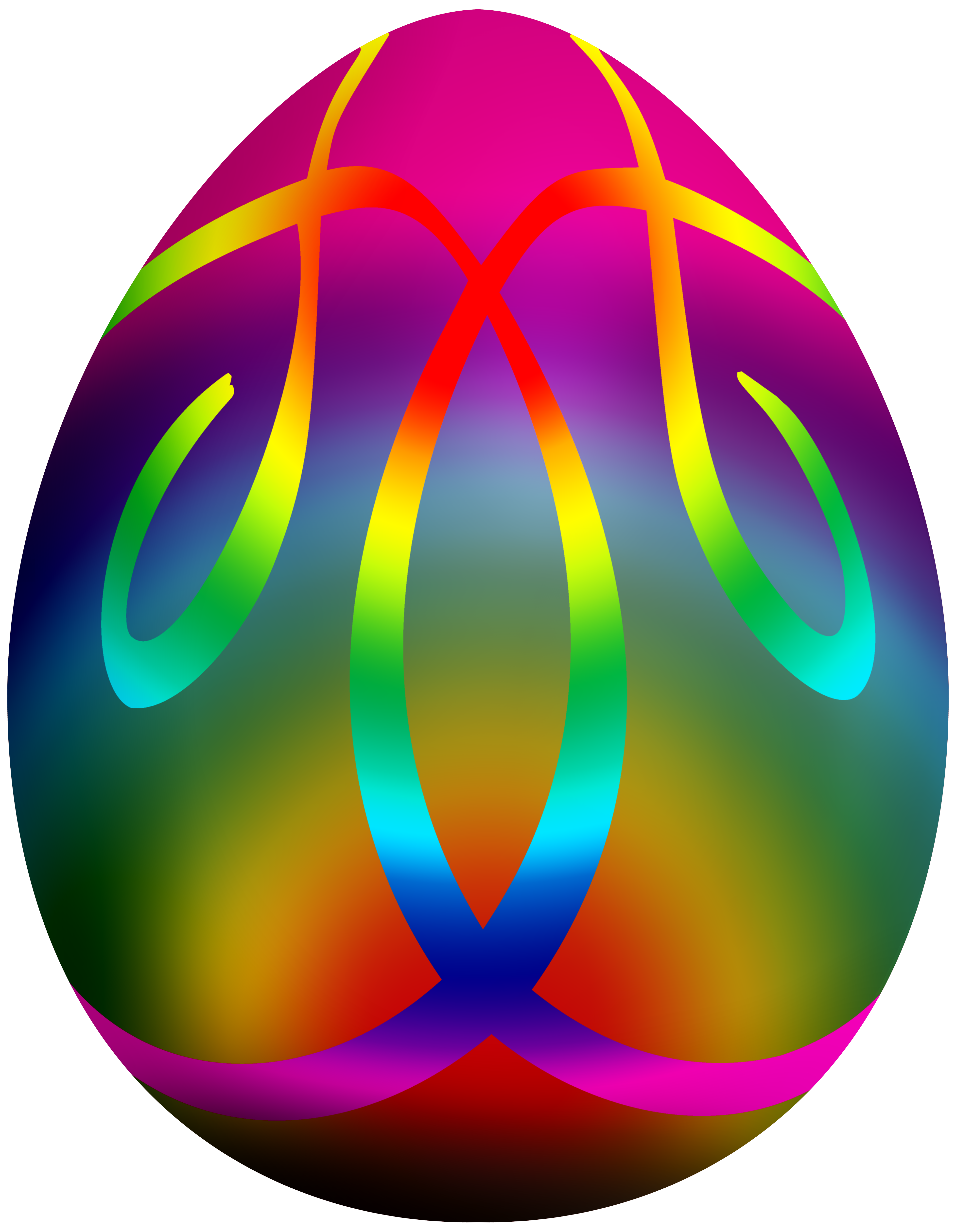 Clipart hat easter. Colorful egg png clip