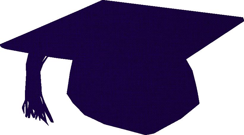 Cap blue by marinka. Graduation clipart gown