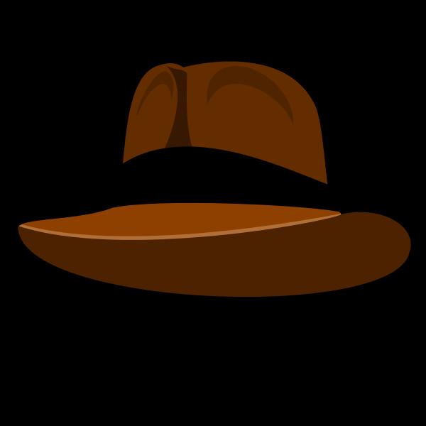 Hat clipart farmers. File liftarn adventurer svg