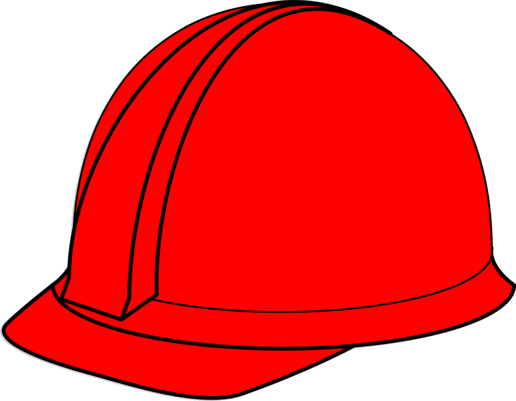 Electrician clipart hard hat worker. Safety helmet colour code