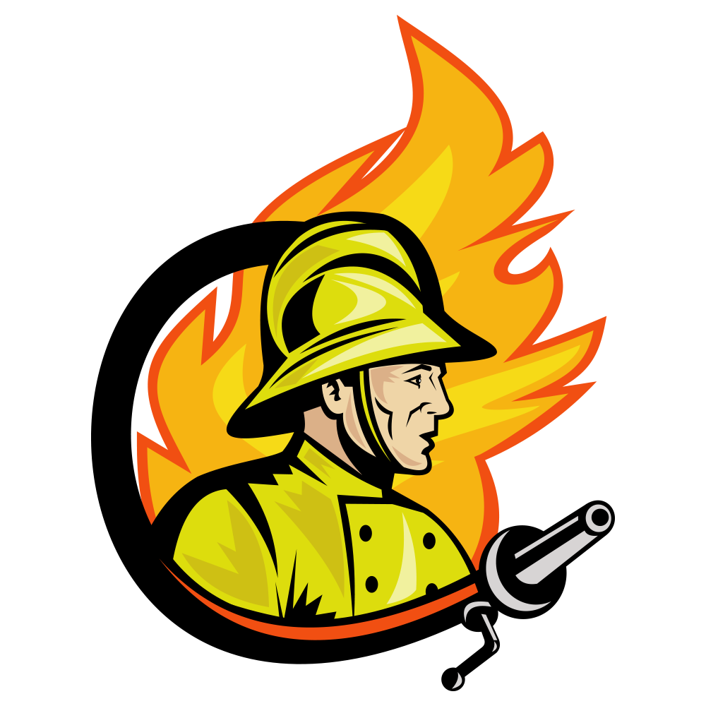 Fireman clipart fire marshal. Safety firefighter ministry of
