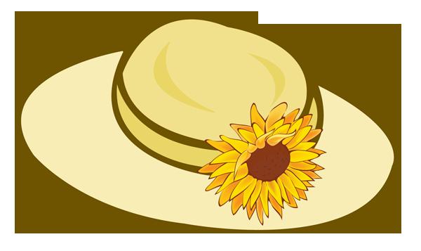 Garden clipart hat. Free images download clip