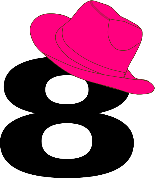 hat clip art. Cowgirl clipart star