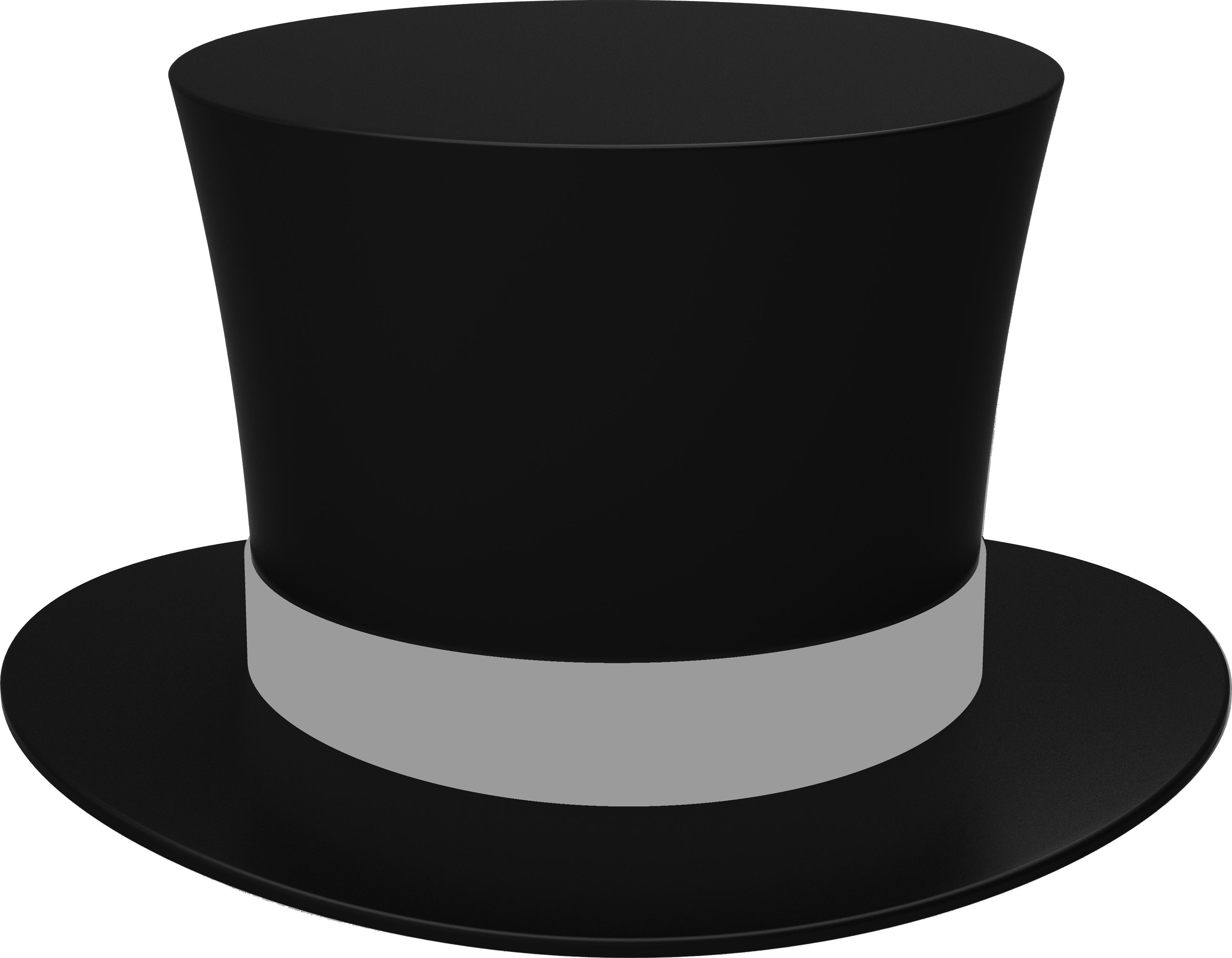 Fedora clipart ranger hat. Black cylinder png image