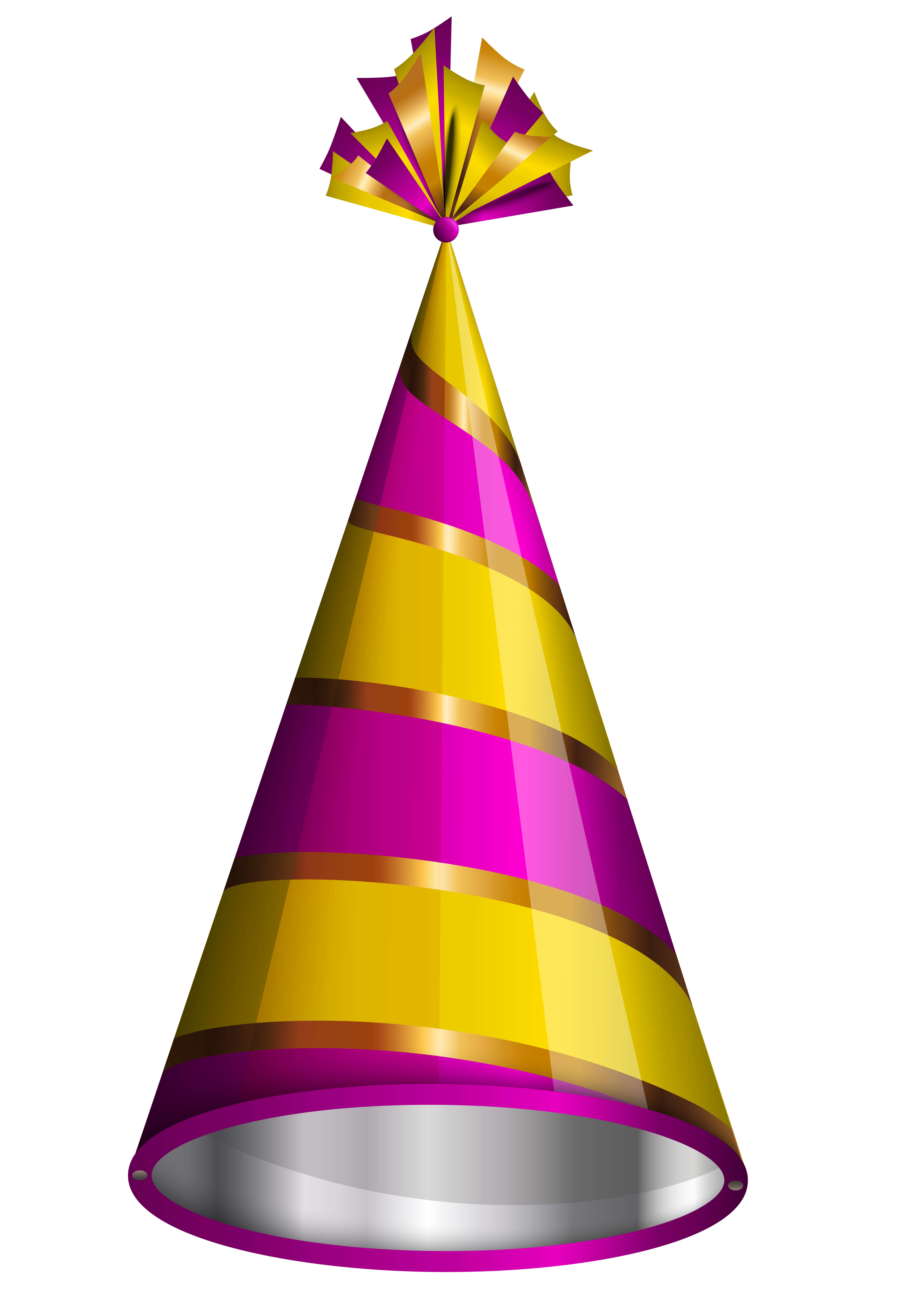 Party hat png image. Horn clipart birthday