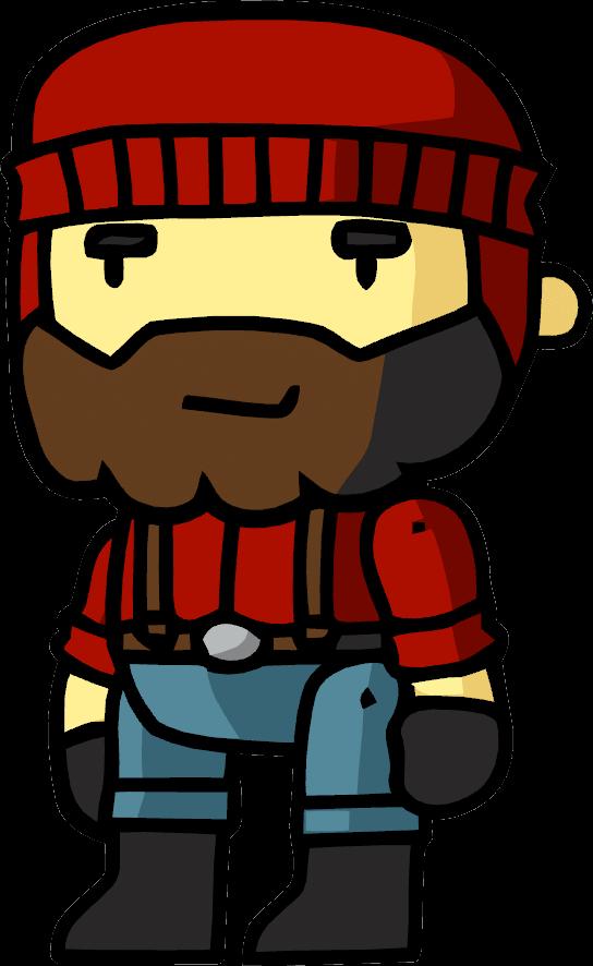 lumberjack clipart character