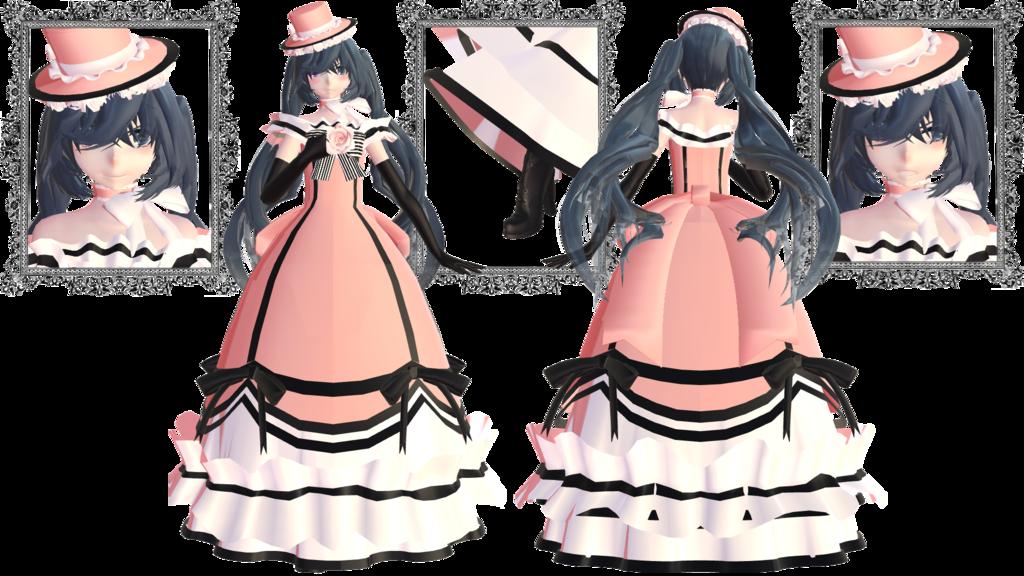 Maid clipart hat. Lady phantomhive kuroshitsujixmmd by
