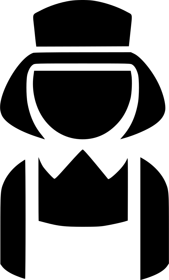 Maid clipart hat. Svg png icon free