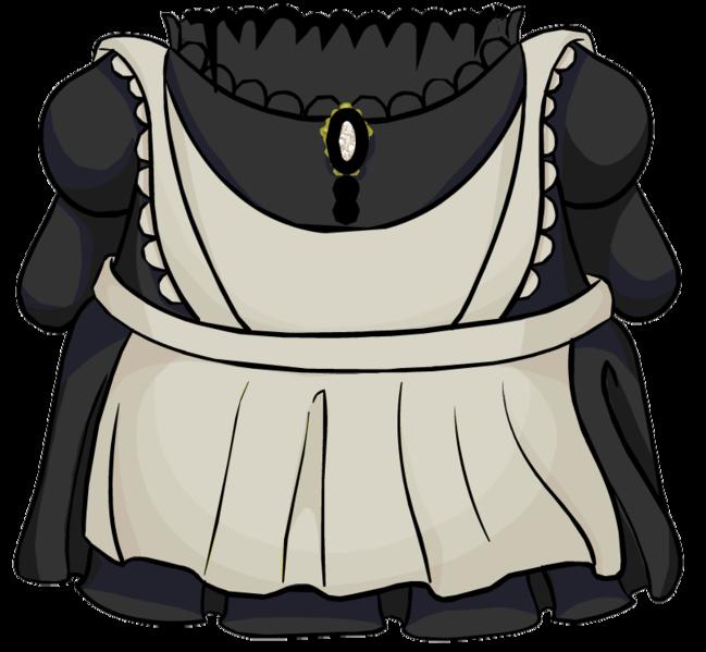 Club penguin wiki fandom. Maid clipart maid outfit