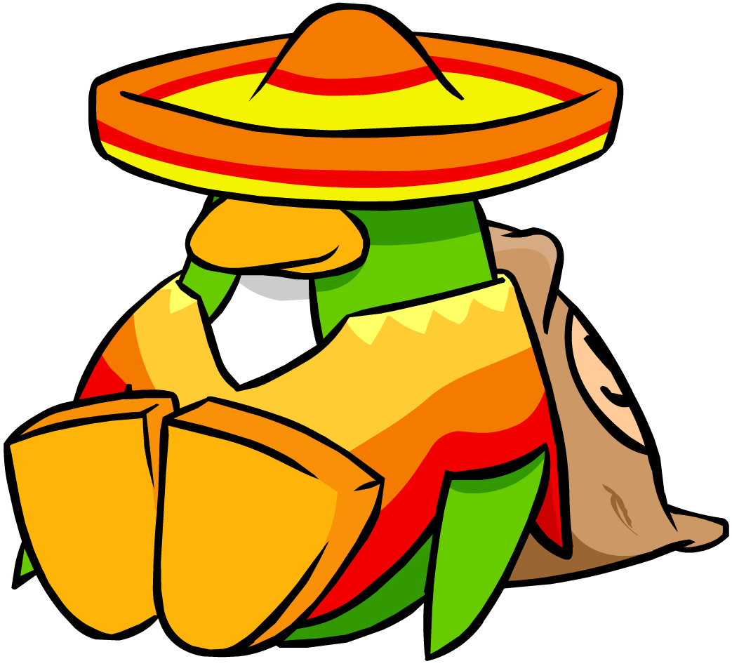 Club clipart community. Image sombrero and poncho