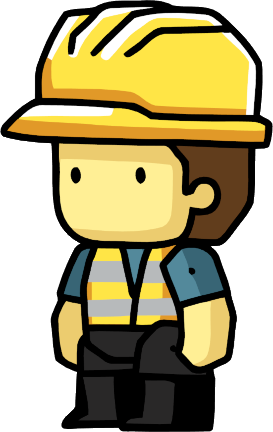 Construction worker scribblenauts wiki. Hats clipart architect