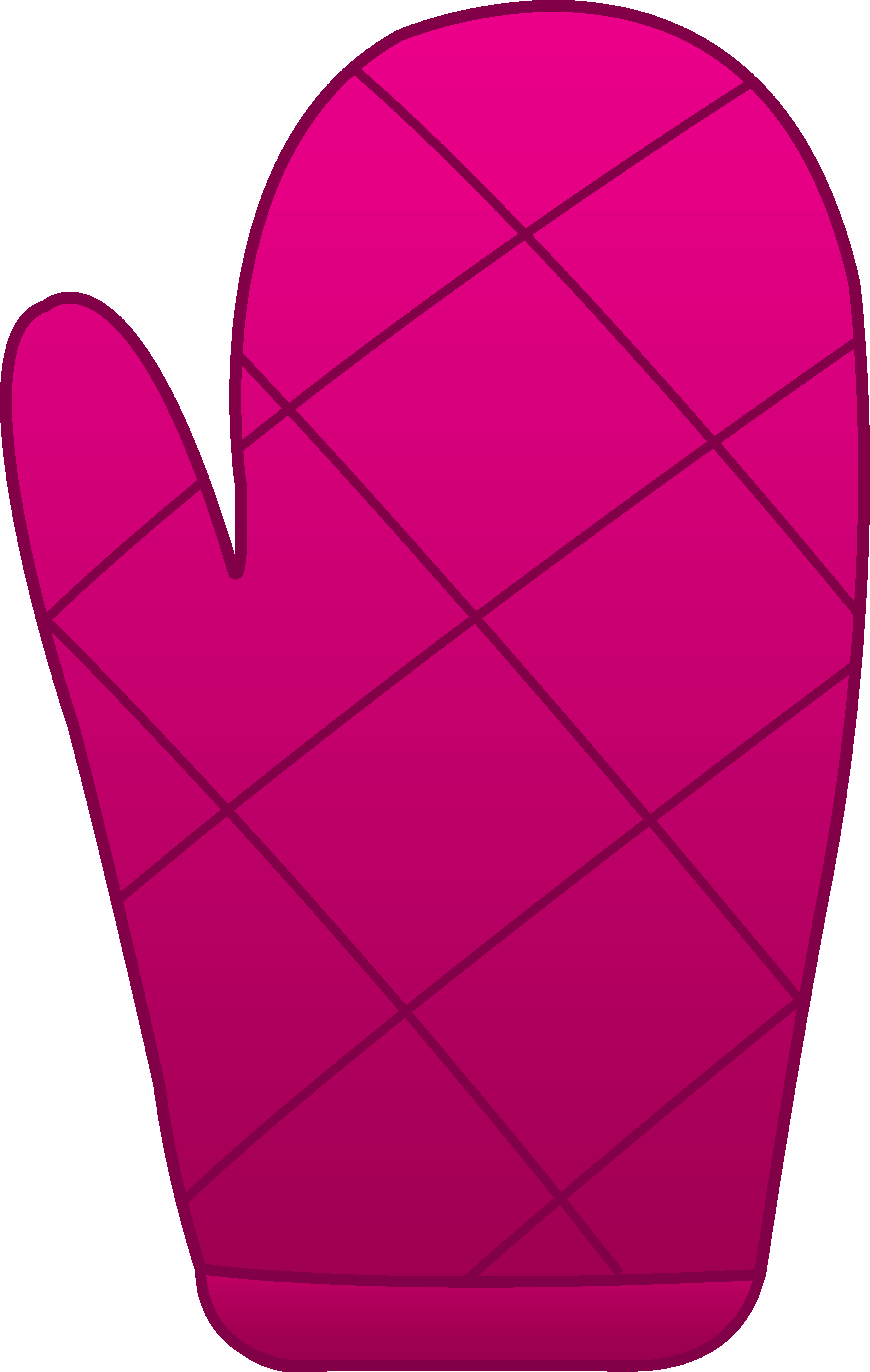 Colorful cliparts free collection. Pink clipart mitten