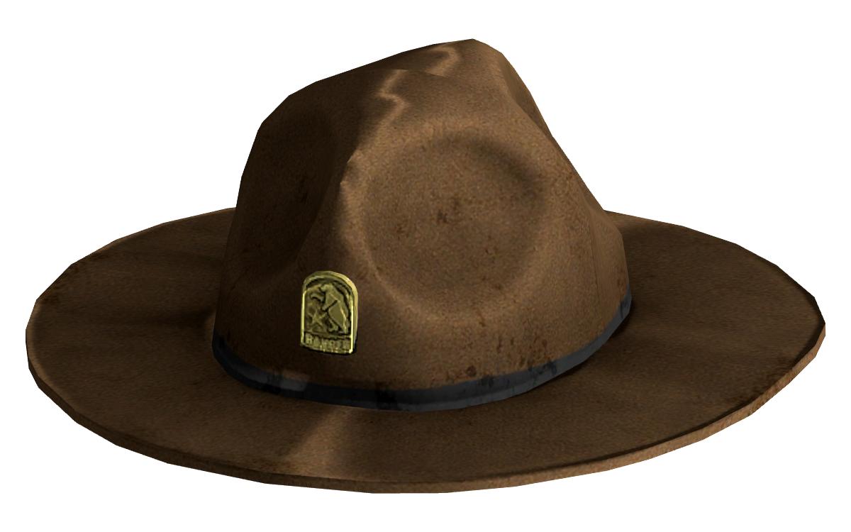 New california republic rangers. Hats clipart park ranger