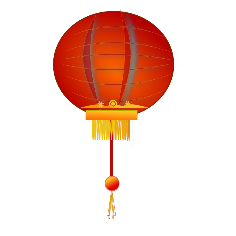 Clipart hat new years eve. Paper lantern medium image