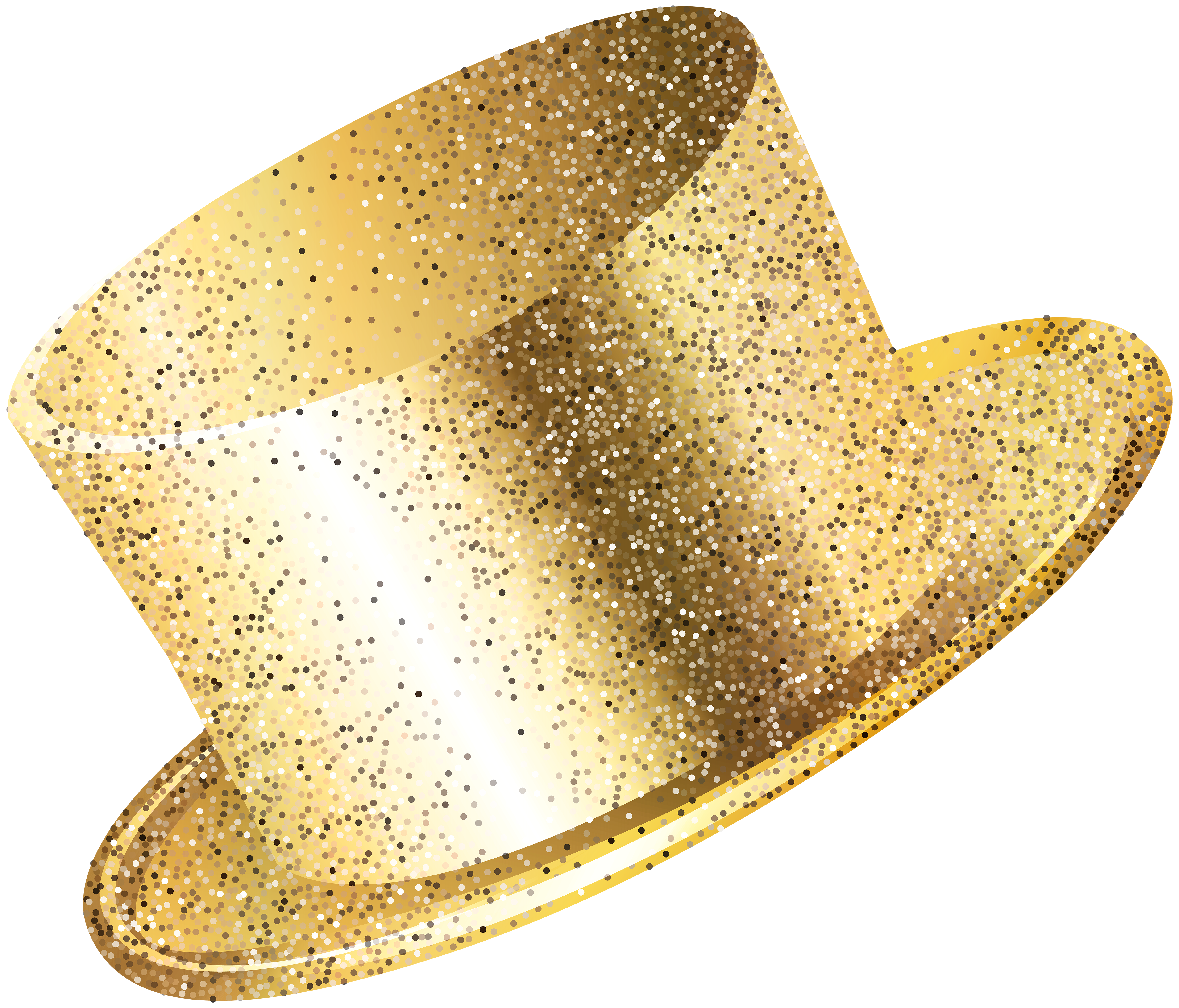 Year party gold png. Clipart hat new years eve