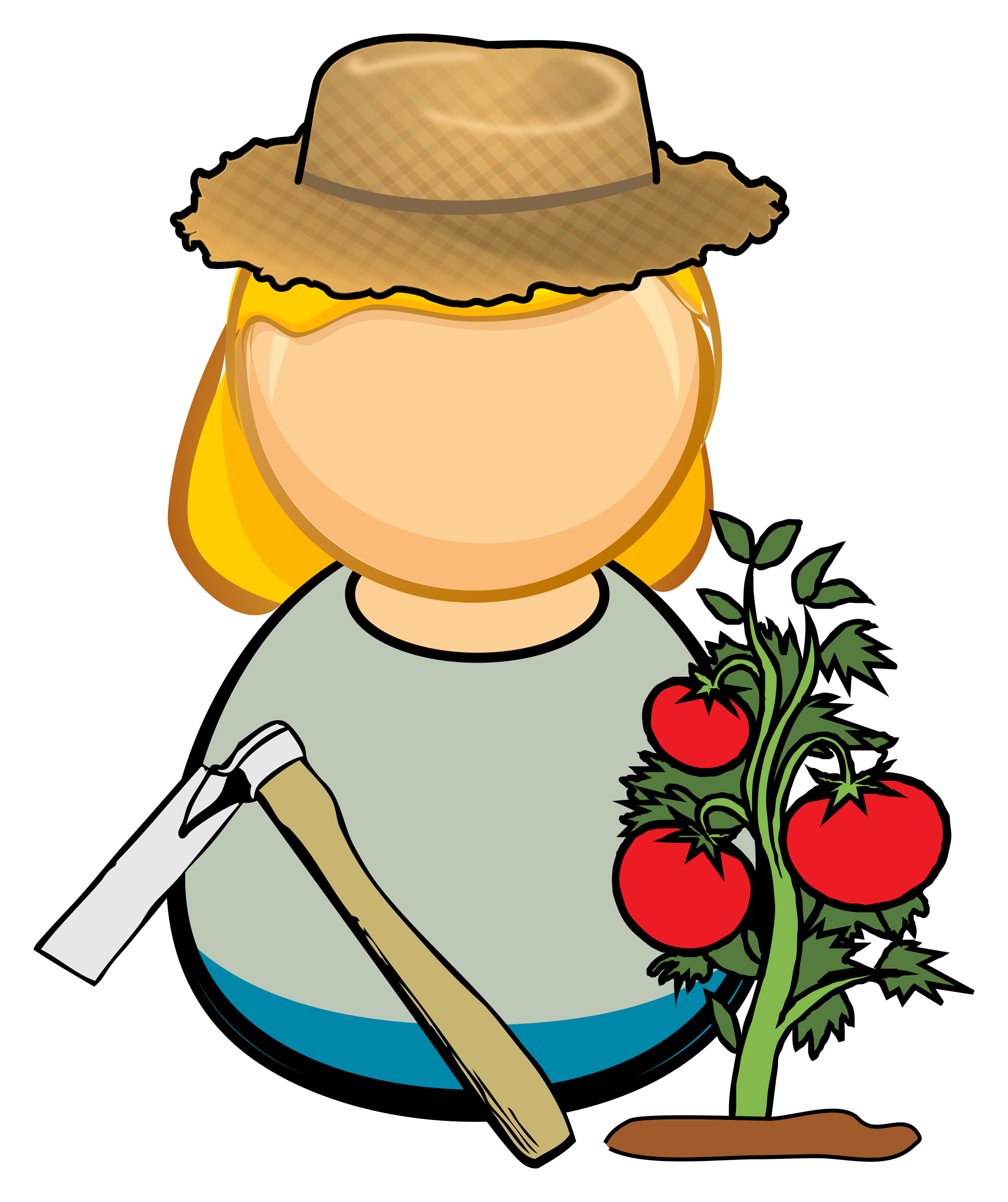 Witch clipart kawaii. Vegetable grower big image