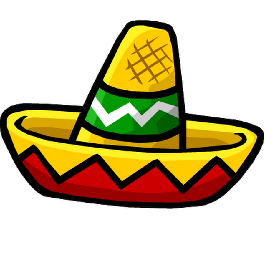 Pictures of mexican hat. Guitar clipart hispanic