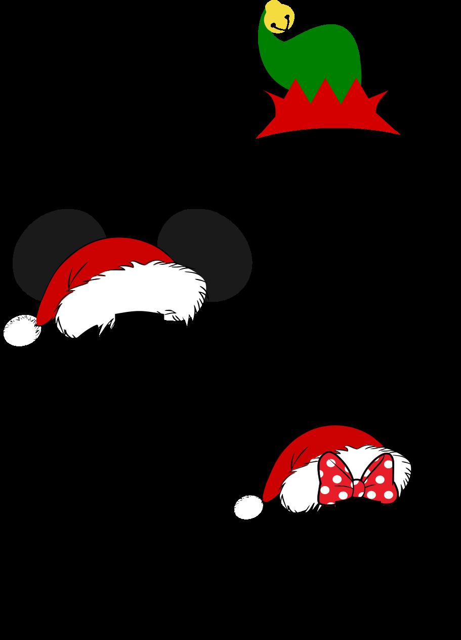 Mickey santa hat svg. Grinch clipart monogram