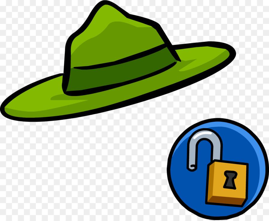 Fedora clipart ranger hat. Park cartoon transparent clip