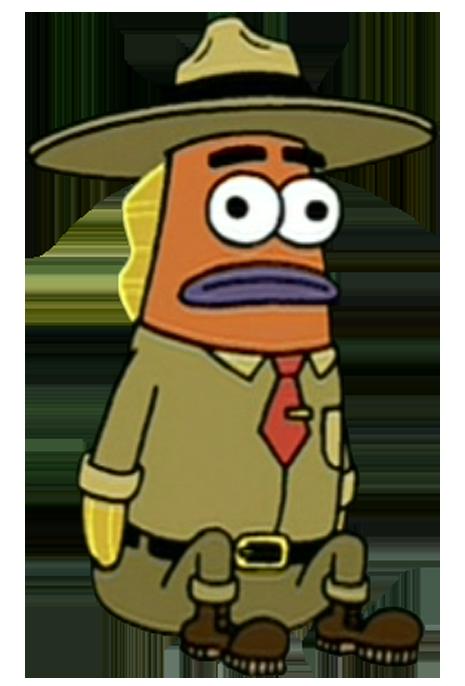 Forest encyclopedia spongebobia fandom. Hats clipart park ranger