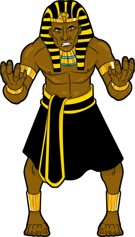 King of egypt and. Hat clipart pharaoh