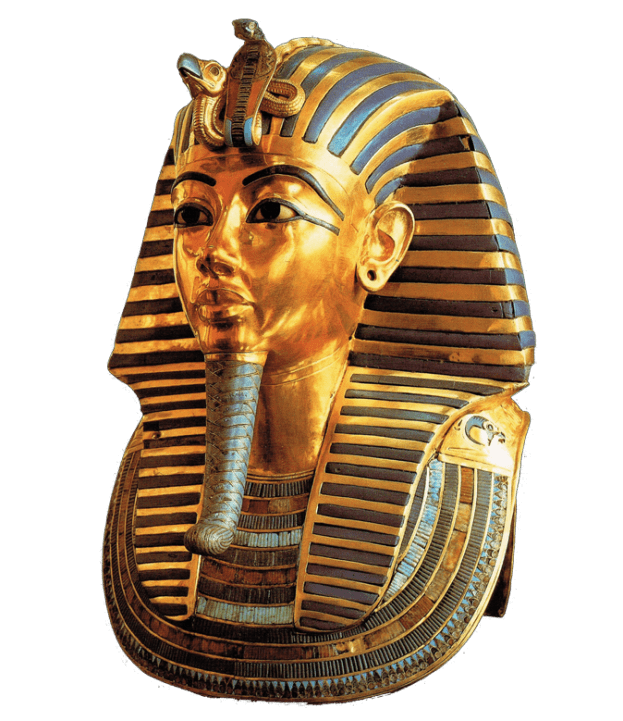 Tutankhamun mask transparent png. Hat clipart pharaoh