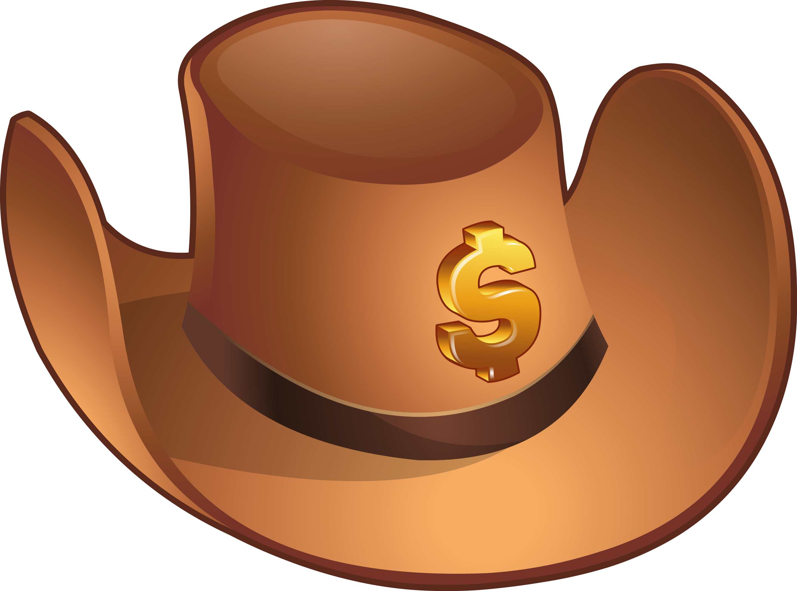 The lonely capitalist home. Pioneer clipart hat