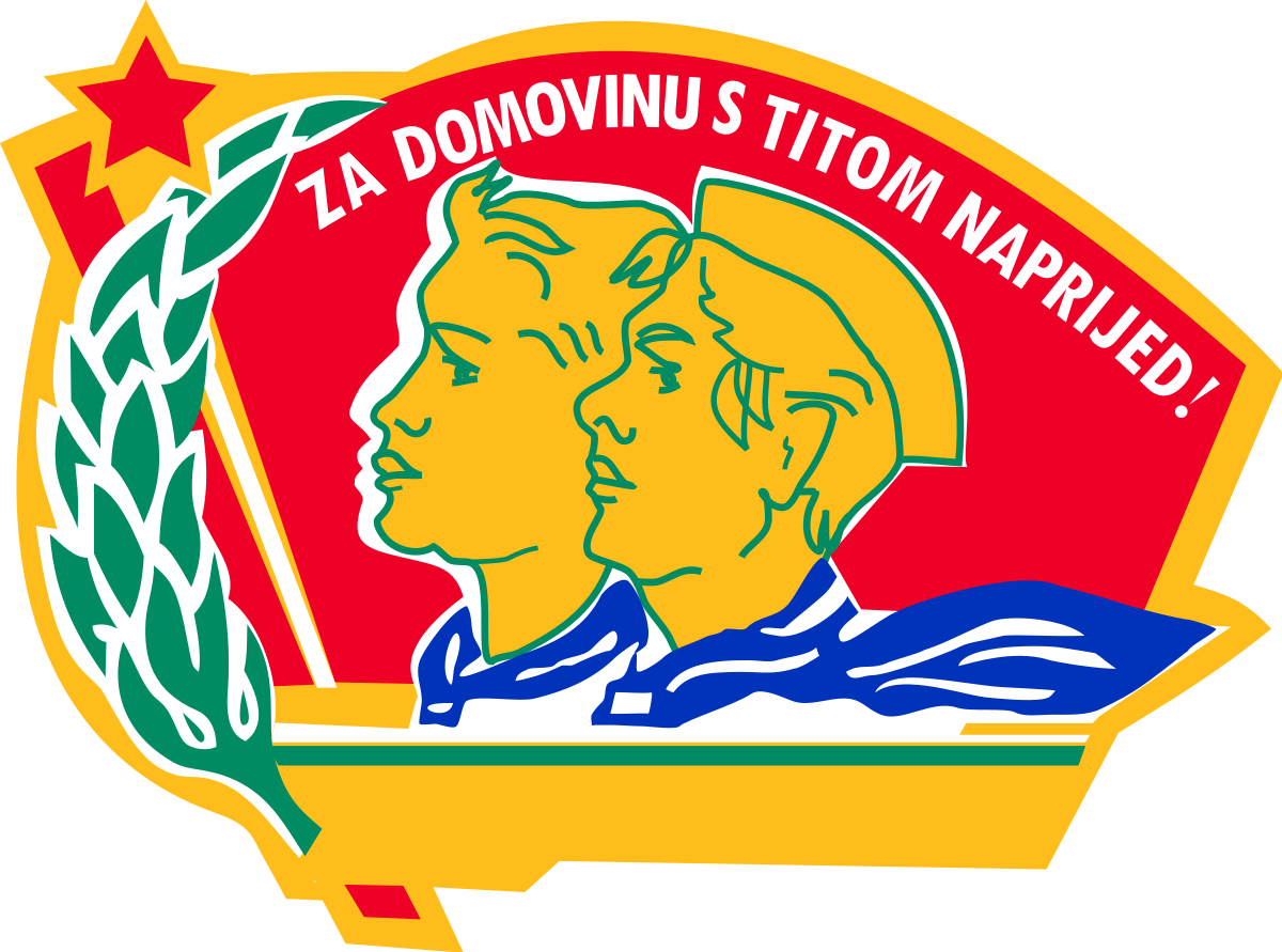 Hats clipart pioneer. Union of pioneers yugoslavia