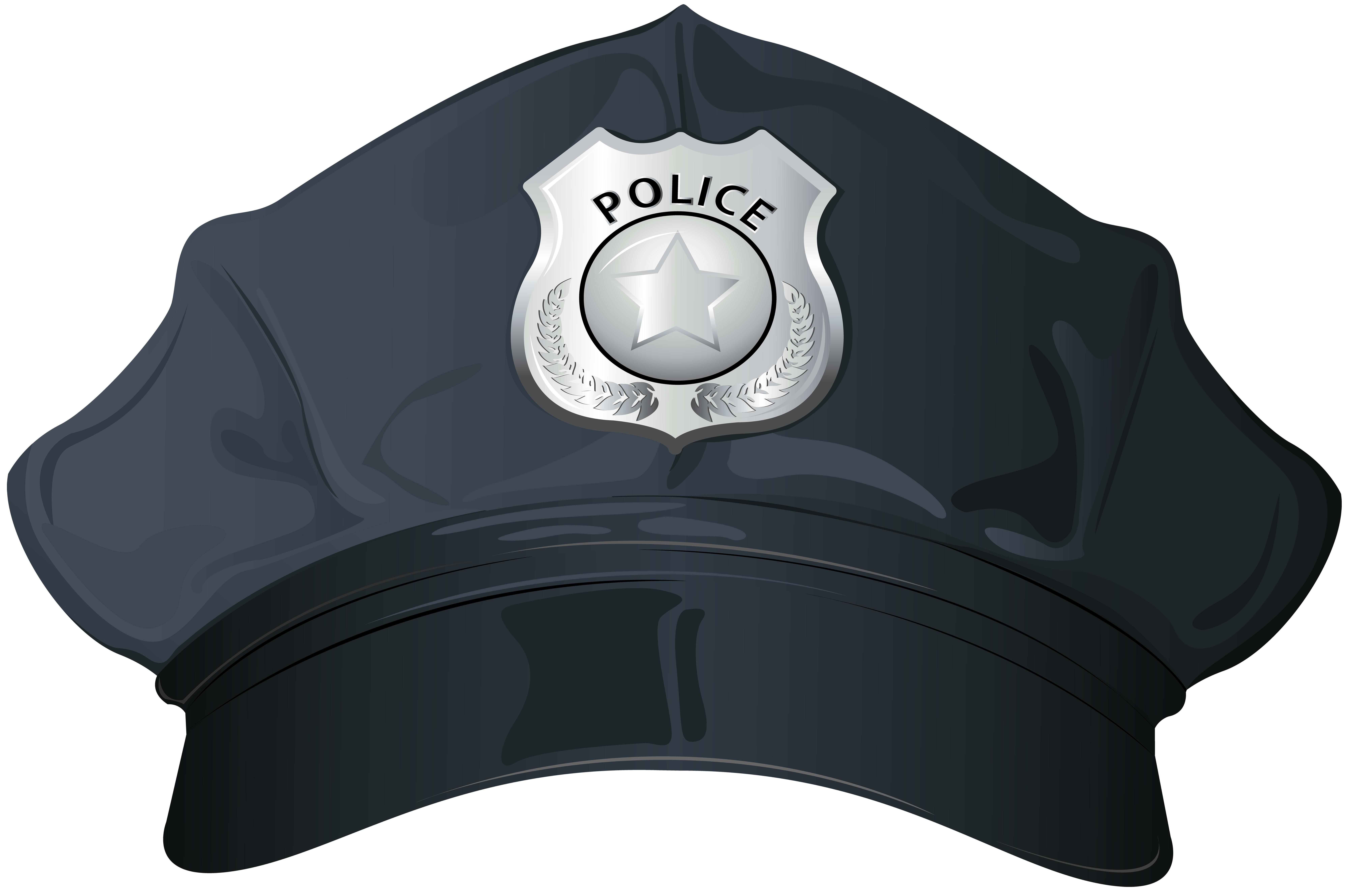 hats clipart police