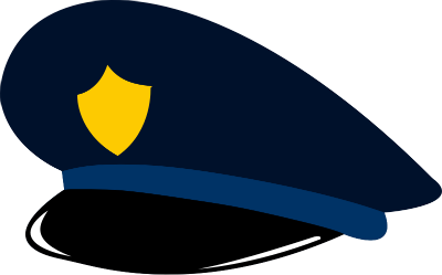 Hats clipart police. Hat free download best