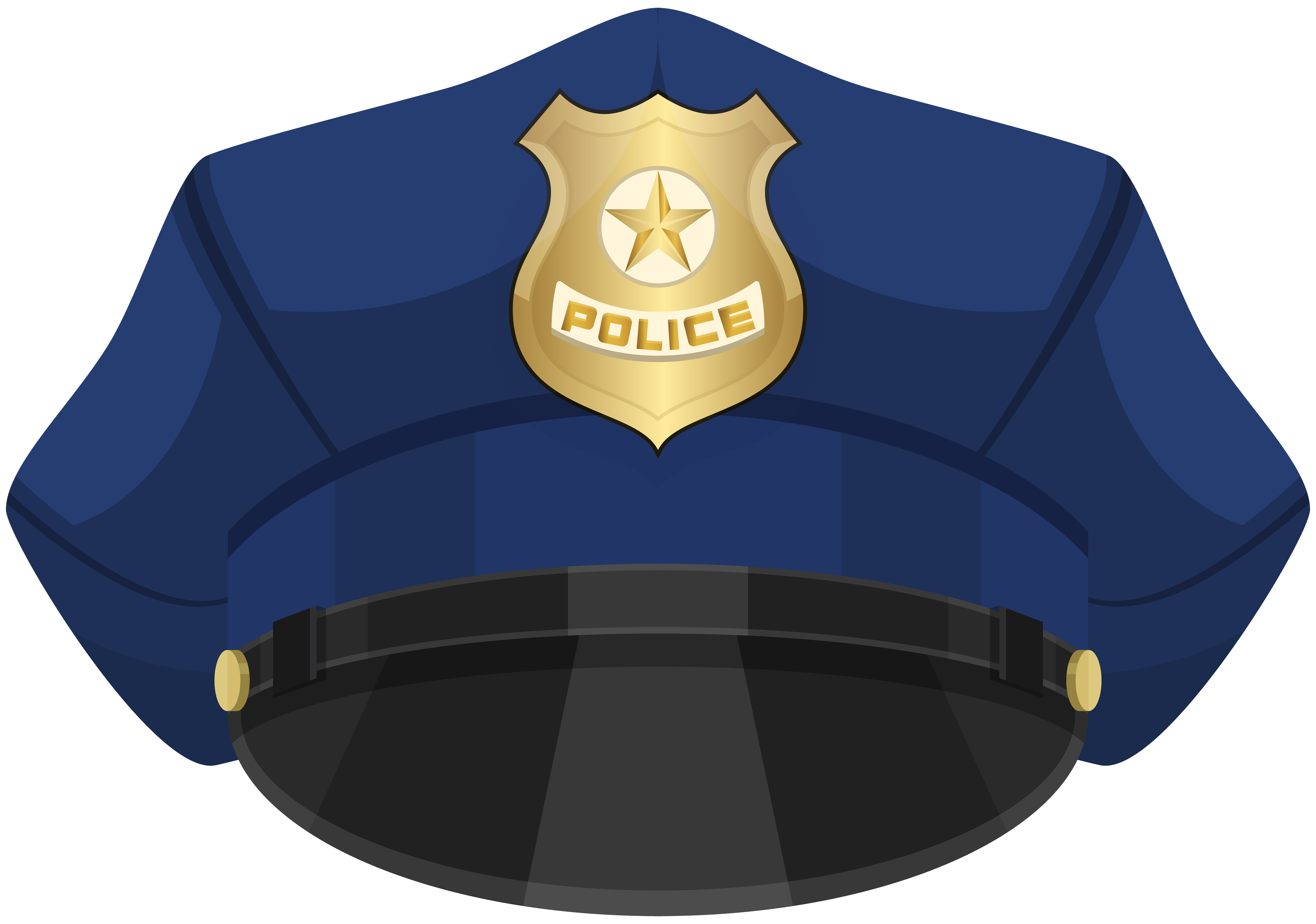 Hat png clip art. Hats clipart police