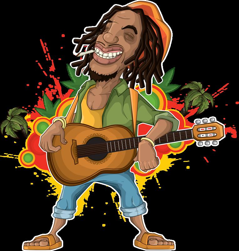 hat clipart reggae