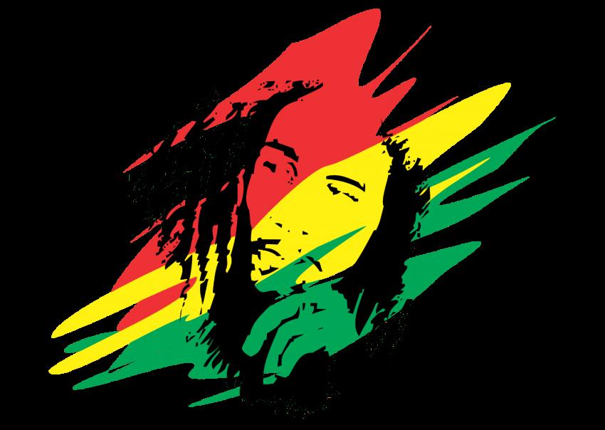Hat clipart reggae. Bob marley at getdrawings