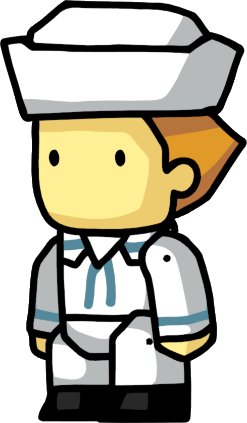 Navy clipart salior. Sailor scribblenauts wiki fandom